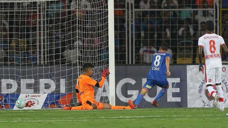 Corominas struck in the 16th, 33rd and 63rd minutes for FC Goa. (ISL)
