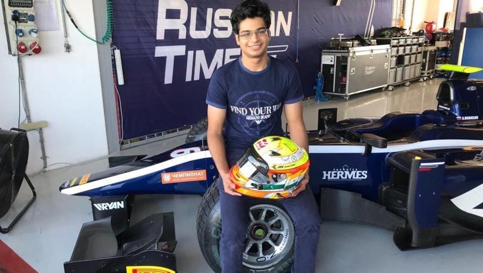 Arjun Maini,Formula 2,GP3
