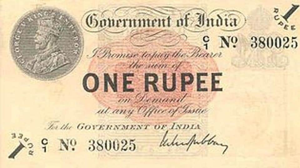 The Humble Re1 Currency Note Turns 100 Today Mumbai News