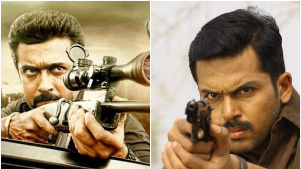 Karthi started his career as ManiRatnam's assistant director in 2004.