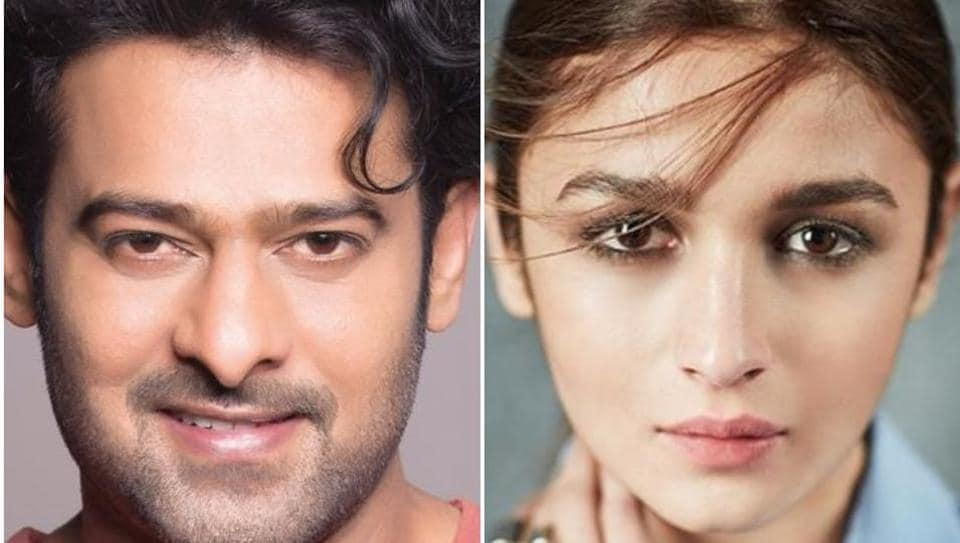 Alia Bhatt was being considered by the makers of Saaho to star opposite Prabhas.
