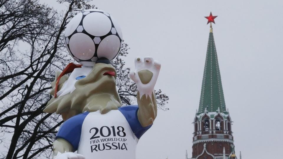 This will be the first FIFA World Cup held in Europe since 2006.  (REUTERS)