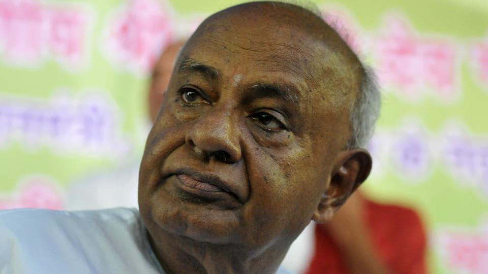 Image result for anata Dal (Secular) leader HD Kumaraswamy