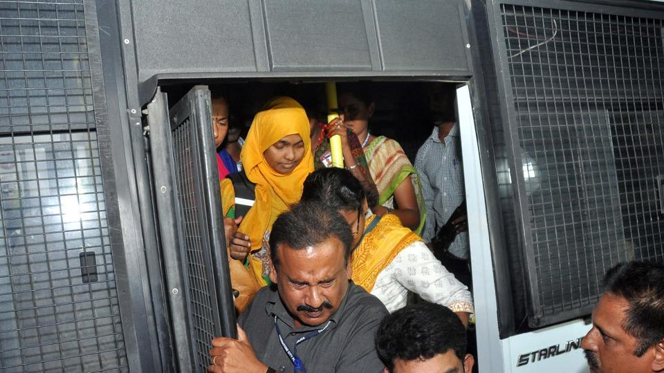 Hadiya arrives in Salem on November 28.