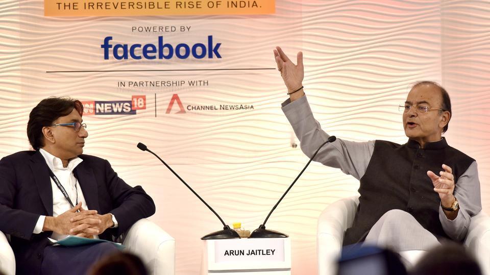 Arun Jaitley,Hindustan Times Leadership Summit,HTLS 2017