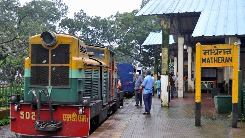 Matheran toy train partially resumed its operation on October 30.