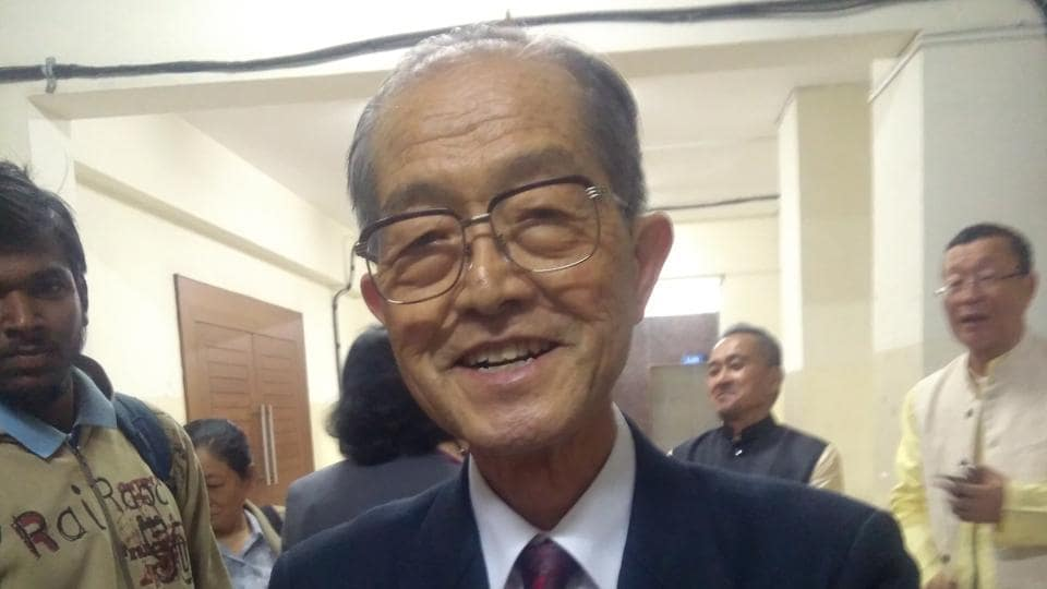 Mizokami, professor Emeritus, Osaka University of Foreign studies, president, Kansai Japan India Cultural society, is on a tour for 45 days, covering 14 cities spread across the word.