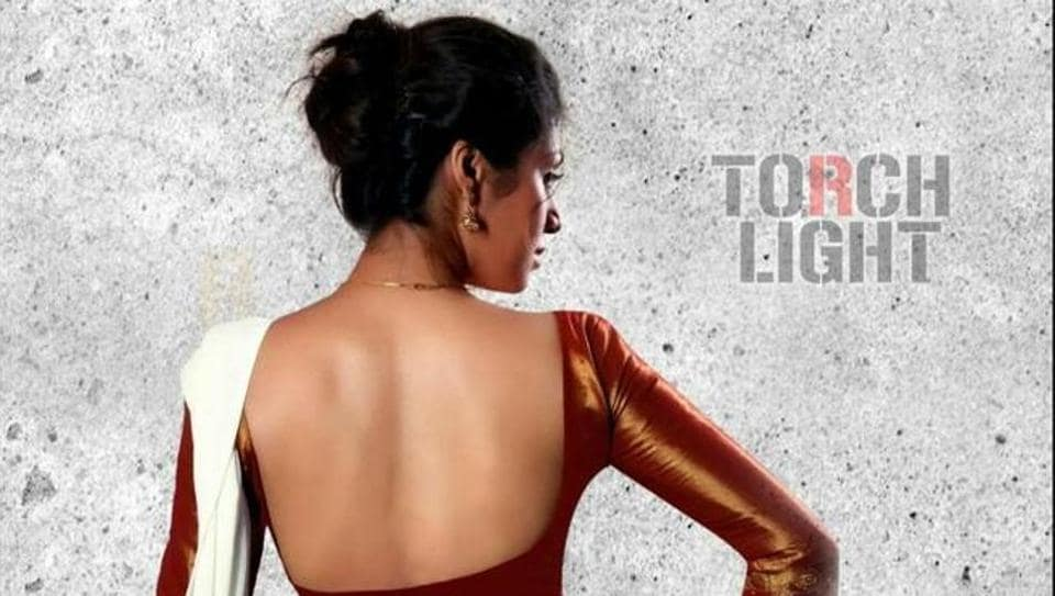 Sadha in a poster of Torchlight.