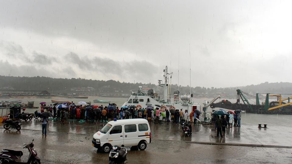 Cyclone Okchi,Pictures,Kerala