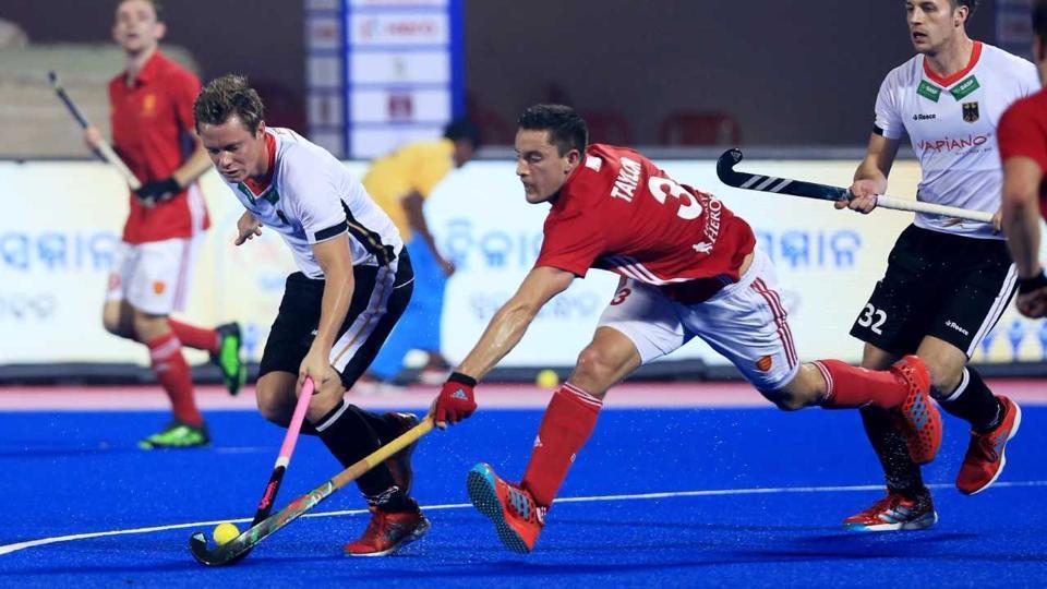 Hockey World League Final,Germany vs ENgland,Mats Grambusch
