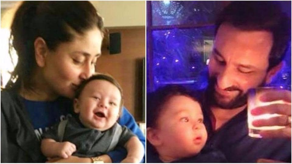 Taimur Ali Khan is the apple of his parents' eyes.