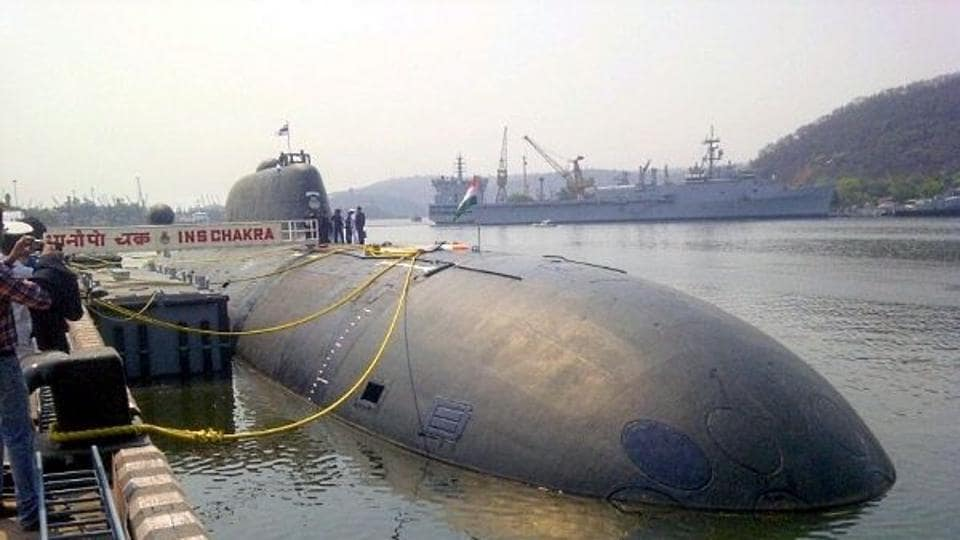 INS Chakra is a nuclear-powered submarine which was taken by India on lease from Russia in 2012 for a period of 10 years.