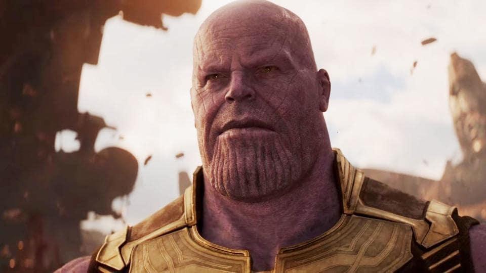 Josh Brolin plays villain Thanos in the film.