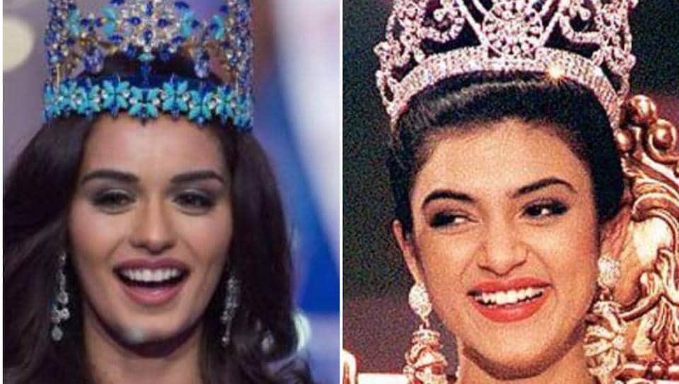 Sushmita Sen,Manushi Chhillar,Miss World 2017 Manushi Chhillar