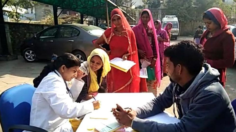 Rajasthan,Govt doctors,Protesting transfers