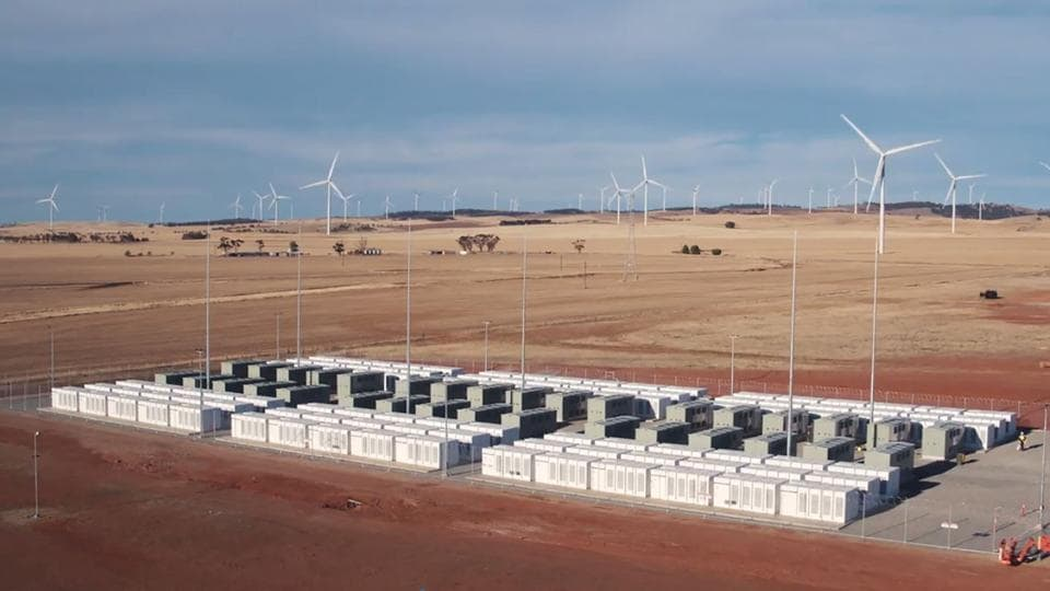 The world's biggest battery was officially launched in Australia on December 1.