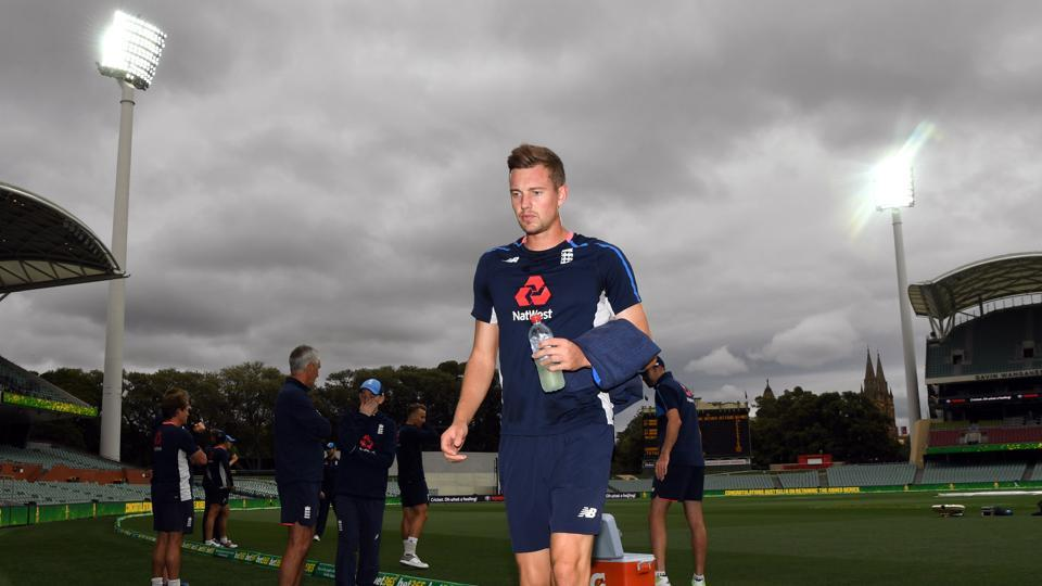 England's cricketers practised at the Adelaide Oval ahead of the Pink Ball Test starting on Saturday in Adelaide.  (AFP)