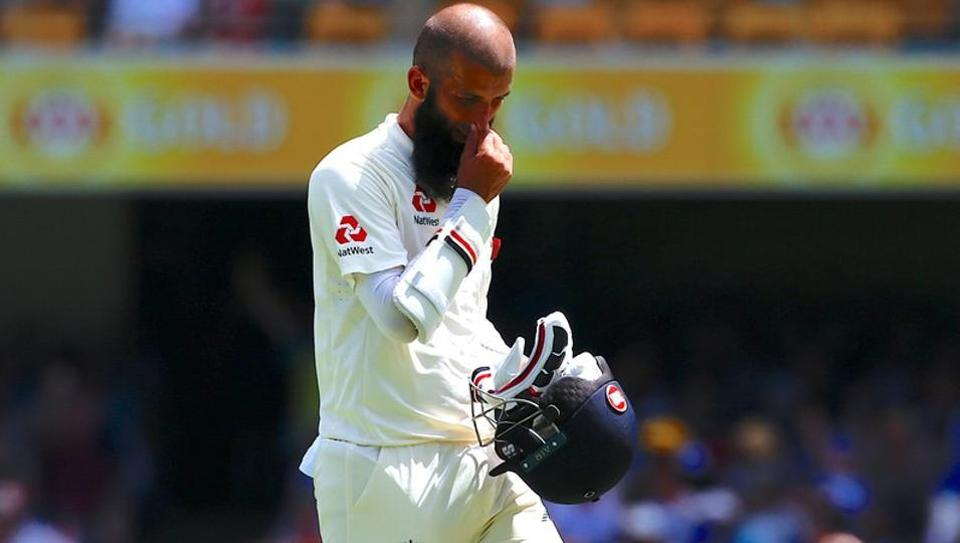 England cricketer Moeen Ali is doubtful for the 2nd Ashes Test against Australia.