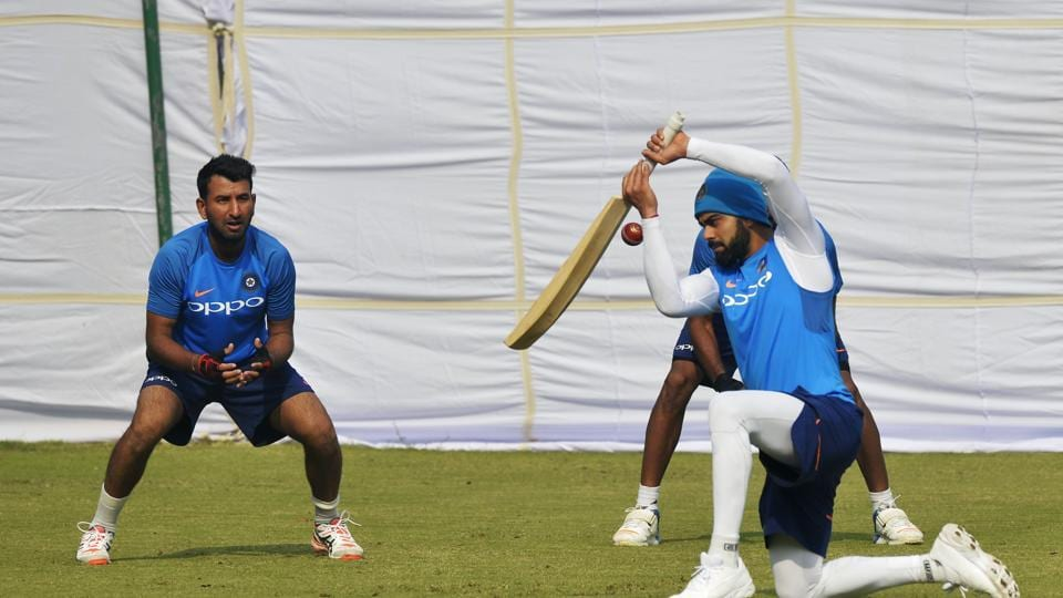 Virat Kohli is banking on this series to get some much needed preparation ahead of the South Africa tour.  (AFP)