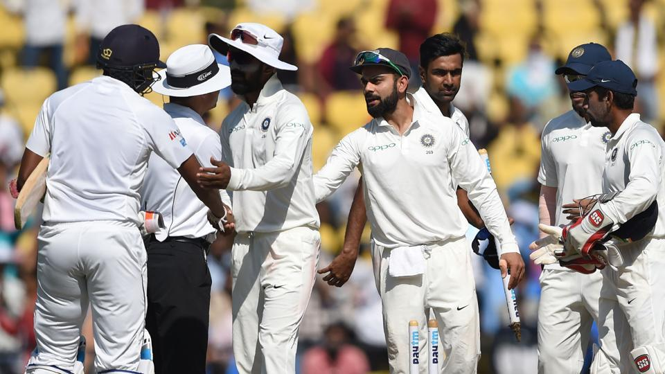 Virat Kohli's Indian cricket team are one win/draw away from equalling the record of nine consecutive series wins as they prepare to face Sri Lanka in the final Test in New Delhi.
