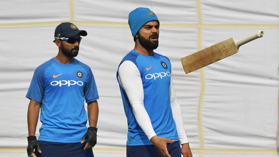 Virat Kohli's Indian cricket team are eyeing a record ninth consecutive series win as they gear up to face Sri Lanka in the third Test in New Delhi. (AFP)