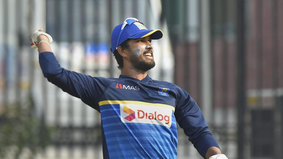 Dinesh Chandimal has said the pitch in Kotla is similar to Nagpur and spinners will play a part as India eye a historic ninth consecutive win.  (PTI)
