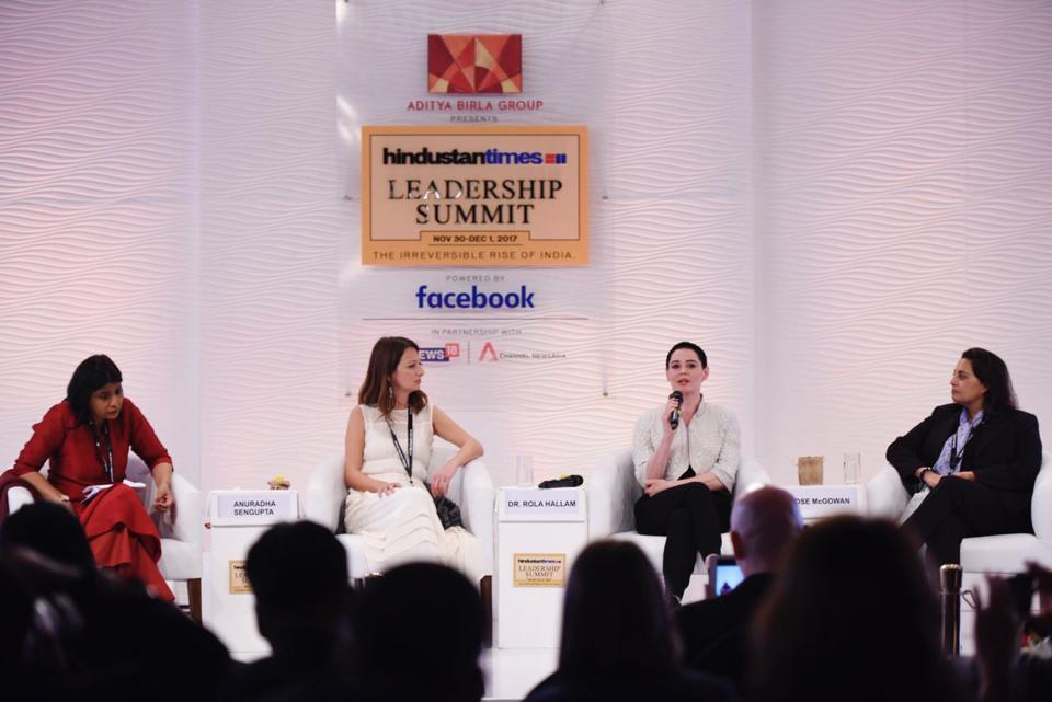 HTLS,Hindustan Times Leadership Summit,Rose McGowan