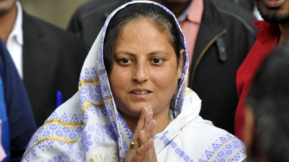 Geeta Pandit of the BJP retained the chairperson seat in Dadri nagar palika, in Greater Noida, by 2,185 votes when the results were announced on Friday.