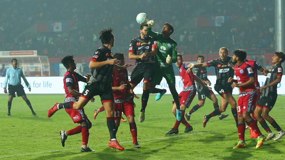 Jamshedpur FC played out a goalless draw against ATK in their Indian Super League match. (ISL )