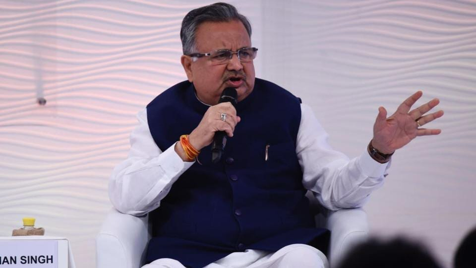 Dr Raman Singh,Chhattisgarh,Hindustan Times Leadership Summit