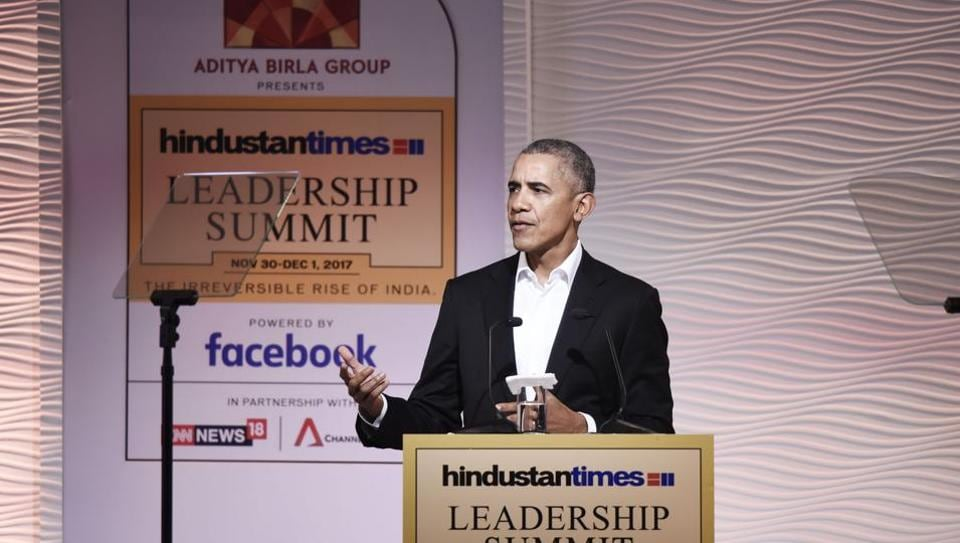 Hindustan Times Leadership Summit,Barack Obama,Live updates