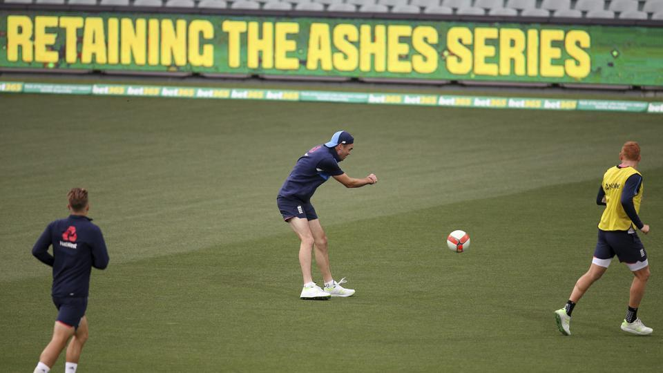 James Anderson and Stuart Broad will be hoping to strike with the Pink Ball as it swings a lot more under lights.  (AP)