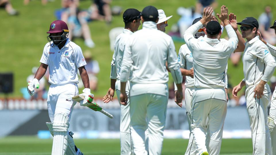 Sunil Ambris,West Indies cricket team,New Zealand national cricket team