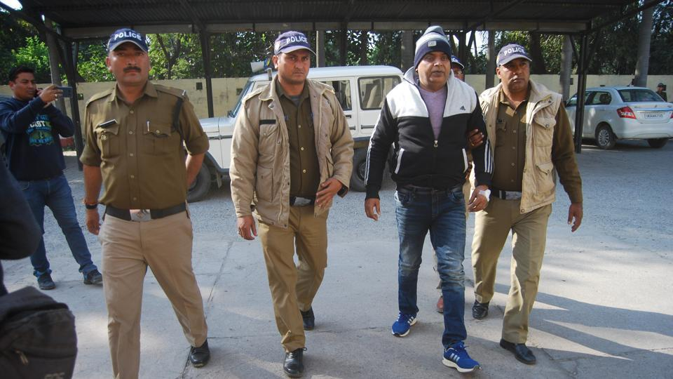 The prime accused in the scam, special land acquisition officer DP Singh had surrendered a few days back.