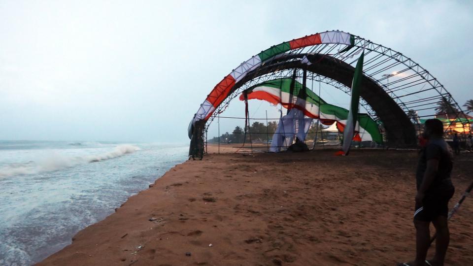 Cyclone Ockhi,Kollam,Kerala