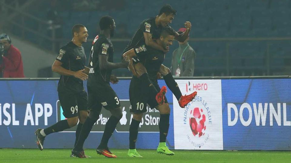 NorthEast United FC defeated Delhi Dynamos in their Indian Super League encounter.