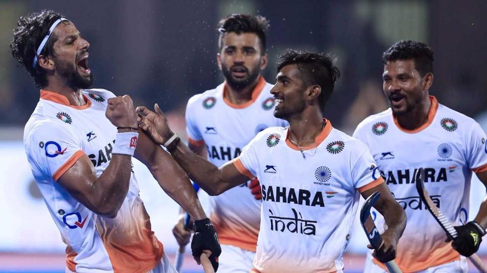 India were defeated 2-3 by England in a hard-fought Hockey World League Final encounter on Saturday.