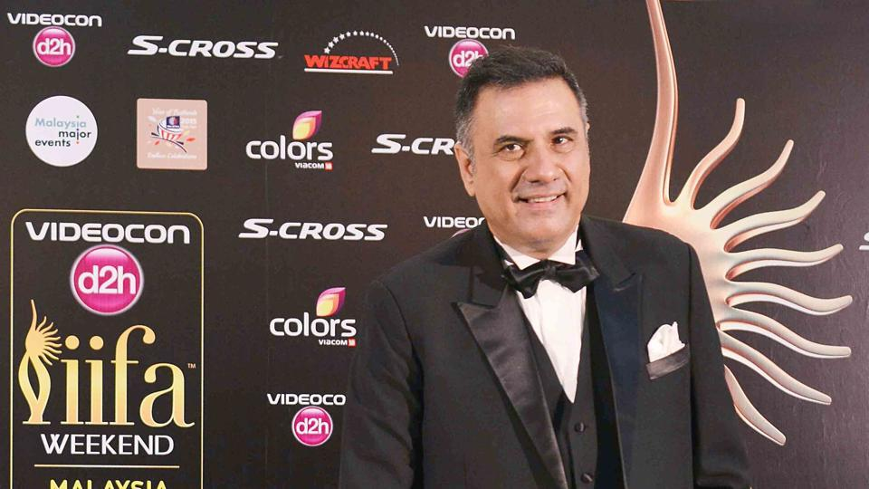 Boman Irani was spotted at IIFA Awards ceremony in Malaysia.