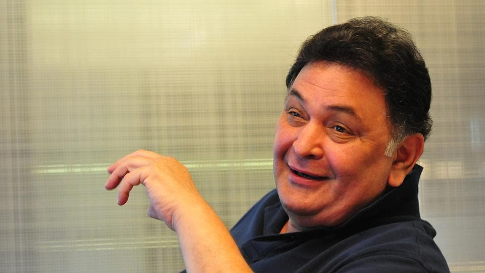Rishi Kapoor is shotting for a film in Chandni Chowk.