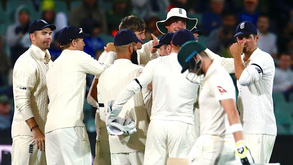 Australia ended Day 1 of the Adelaide Test at 209/4 despite losing skipper Steve Smith.