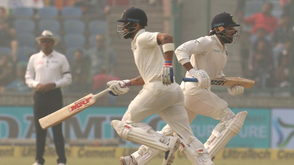 Murali Vijay and Virat Kohli began the rebuilding process as they scored at a consistent rate.  (BCCI)