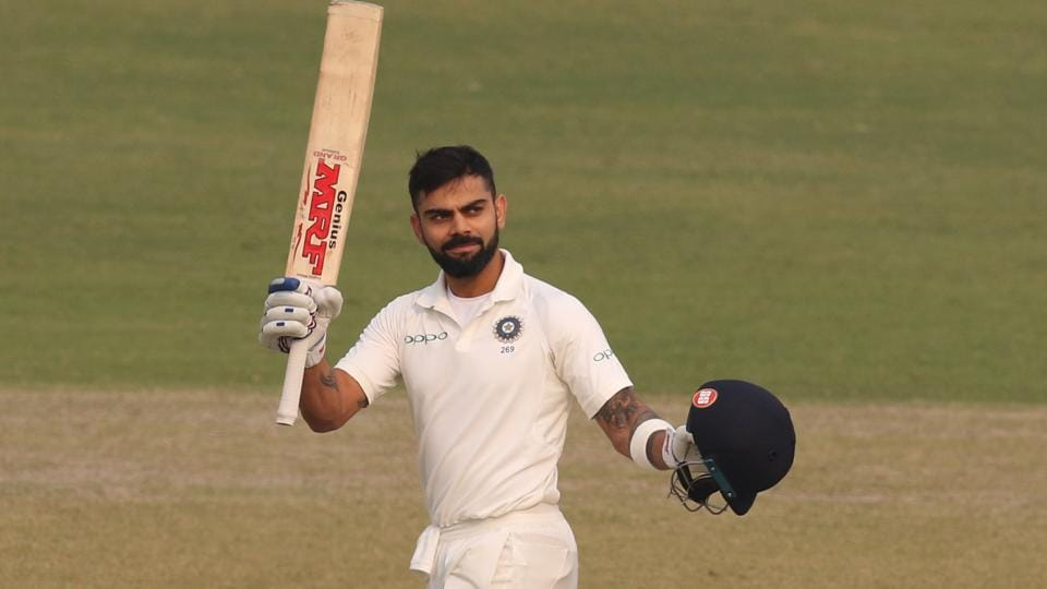 Virat Kohli registered yet another score of 150. This was Virat Kohli's third century in the series after falling for a duck in the first innings in Kolkata.  (BCCI)