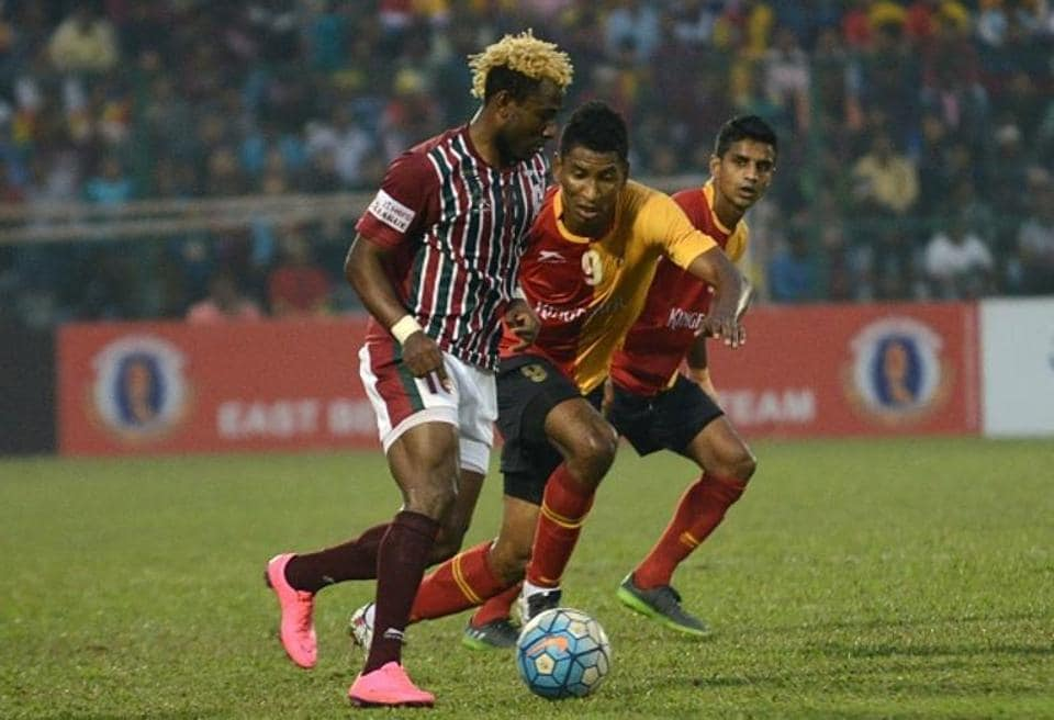 With Indian Super League games scheduled at 5.30pm and 8pm, the Kolkata derby between Mohun Bagan and East Bengal will kick off at 2pm on Sunday.