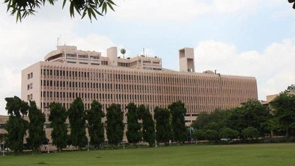 A view of the Indian Institute of Technology campus in Delhi.