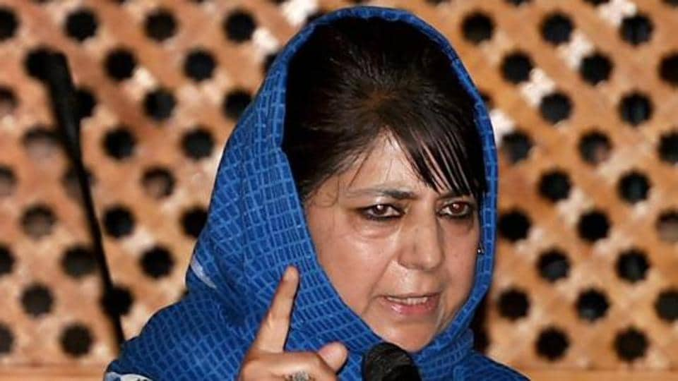 Jammu and Kashmir Chief Minister Mehbooba Mufti was elected unopposed as PDP president in Jammu on Saturday.