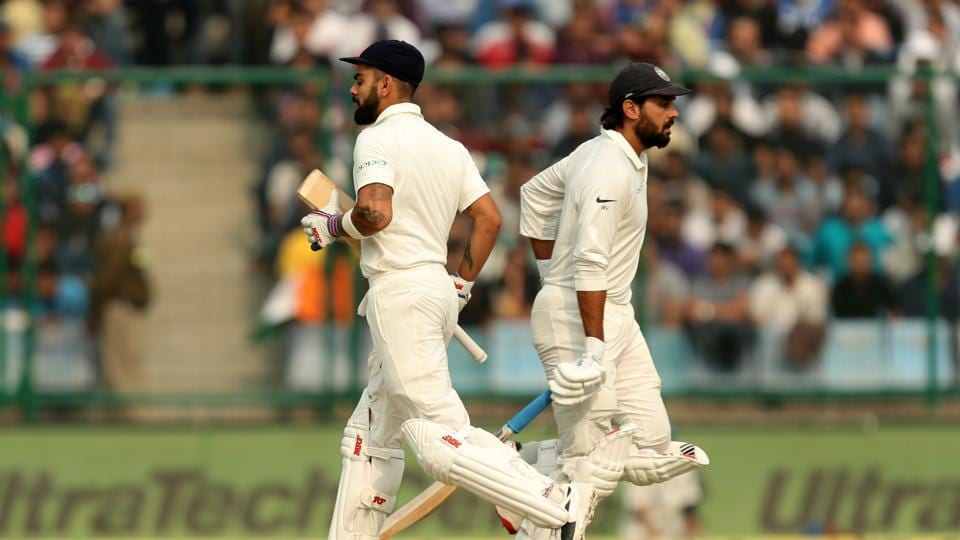 Virat Kohli and Murali Vijay continued to make great progress as Sri Lanka's bowlers were deflated.  (BCCI)