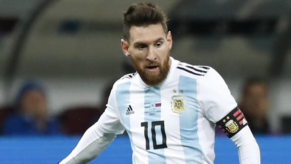 6a6a64e8f FIFA World Cup  Lionel Messi s Argentina on collision course with ...