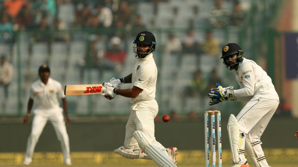 Shikhar Dhawan and Murali Vijay gave India a fast start as the Sri Lankan bowlers struggled.  (BCCI)