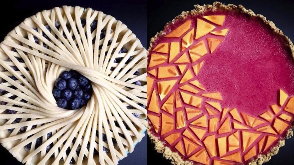 Lauren Ko has been baking pies for little over a year, but her Instagram is full of beautiful photographs of her artistic creations.