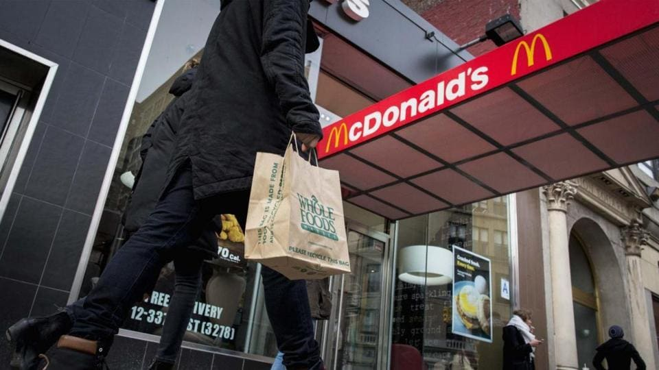 The girl was in the McDonald's outlet on Seven Sister's road in Holloway when a guard asked her to take off the hijab if she wanted to queue up for ordering food.